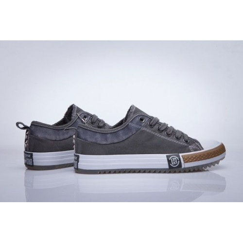 7586f561 Кеды Converse Chuck Taylor All Stars Low New Collection Grey/White (Е-027)
