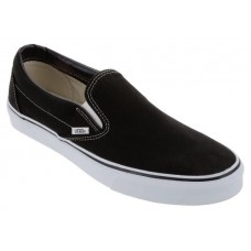 Кеды - Слипоны Vans Slip-On Black/White (Е-411)