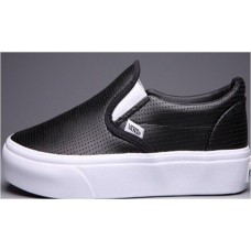 Кеды Vans Black Punching (Е-514)