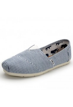 Эспадрильи Toms Classic White/Blue (Е-511)