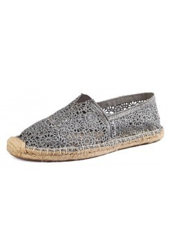 Эспадрильи Toms Lace Grey (Е-513)