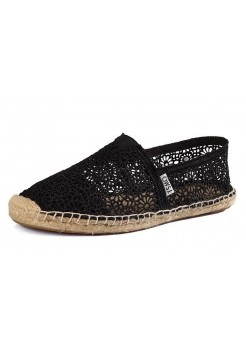 Эспадрильи Toms Lace Black (Е-515)