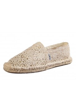 Эспадрильи Toms Lace Cream (Е-516)