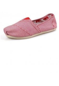 Эспадрильи Toms Classic White/Red (Е-520)