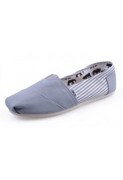 Эспадрильи Toms Classic White/Grey (Е-523)