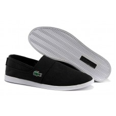 Спипоны Lacoste Slip-On Black (Е-712)