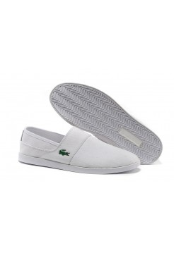Спипоны Lacoste Slip-On White (Е-713)
