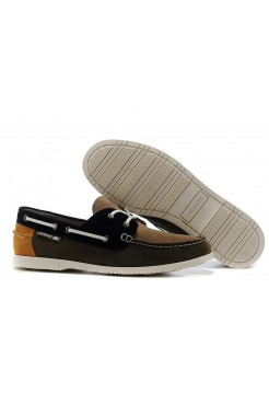 Мокасины Lacoste Dark Brown (Е-719)