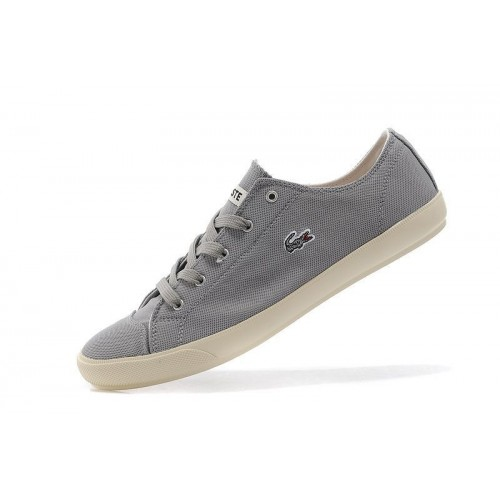 Кеды Lacoste Old School Light Grey (Е-524)