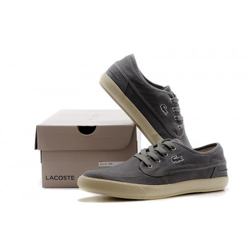 Кеды Lacoste Old School Dark Grey (Е-525)
