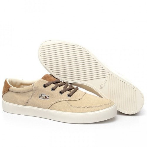 Кеды Lacoste Old School Cream (Е-725)