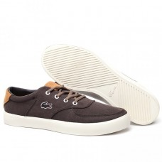 Кеды Lacoste Old School Brown (Е-726)