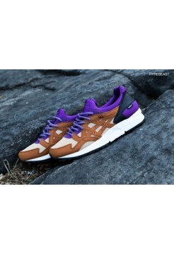 Кроссовки Asics Gel Lyte V violet High Quality (Е-115)