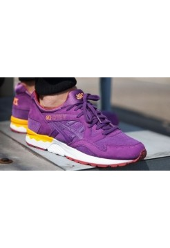 Кроссовки Asics Gel Lyte V Purple (Е-222)