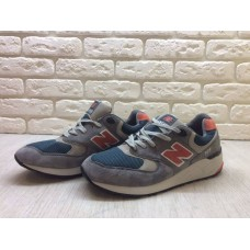 Кроссовки New Balance 999 Grey/Red (Е-111)