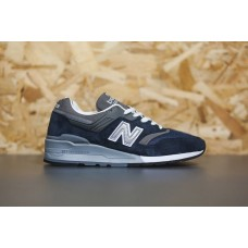Кроссовки New Balance 997 Navy/Grey (Е-411)