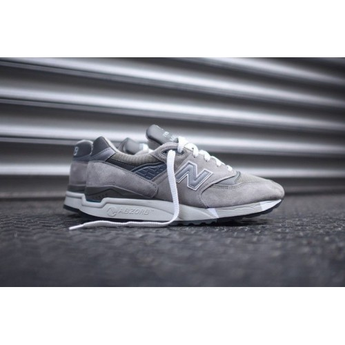 Кроссовки New Balance 998 M998 Grey (Е-632)