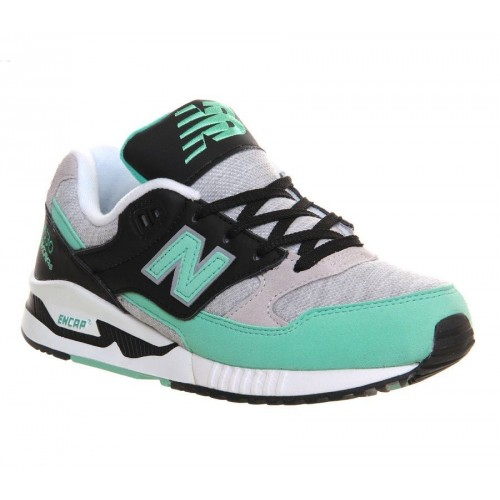 Кроссовки New Balance W530 Grey/Green (Е-409)