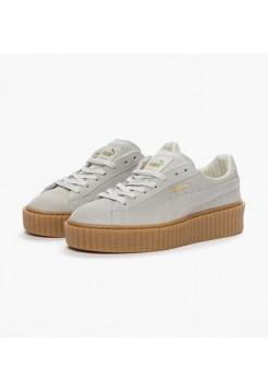 Кроссовки Puma Rihanna white gum (МЕVО238)