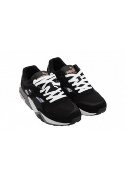 Кроссовки Puma R698 Fast Graphic Black/Pink (Е-321)