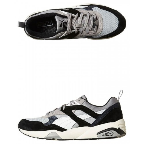 Кроссовки Puma R698 Kosma Pack White/Black (Е-323)