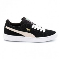 Кроссовки Puma Suede Classic Black White (О312)