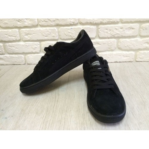 Кроссовки Puma Classic All Black (Е-313)