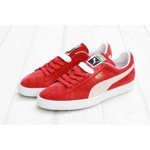Кроссовки Puma Classic Red (Е-313)