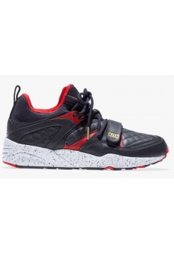 Кроссовки Puma Blaze of Glory Black Red (Е-611)