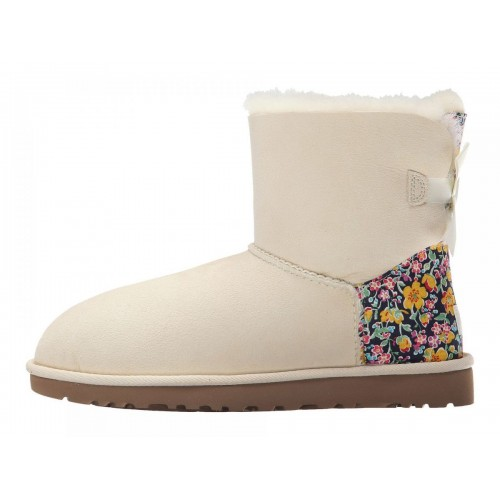 UGG Australia Mini Bailey Bow Liberty Sand