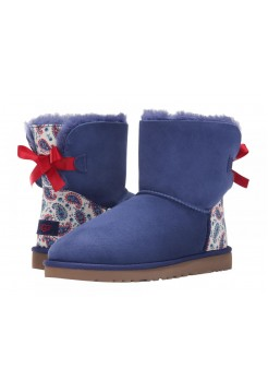 UGG Australia Mini Bailey Bow Liberty Blue (EО538)