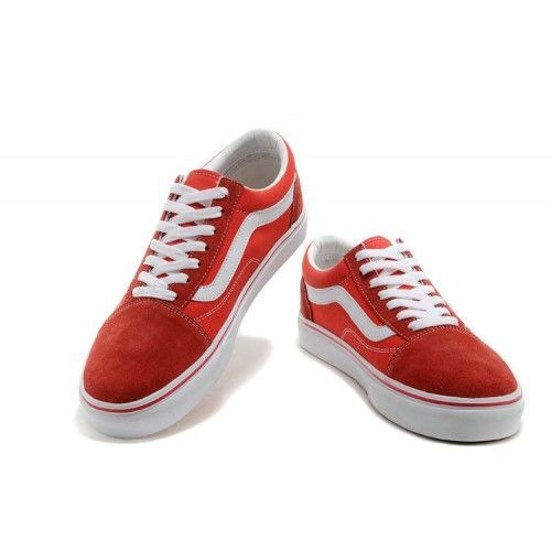 Кеды Vans Old Skool Красные (WV008)