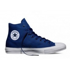 Кеды Converse Chuck Taylor All Star II High Синие (VА011)