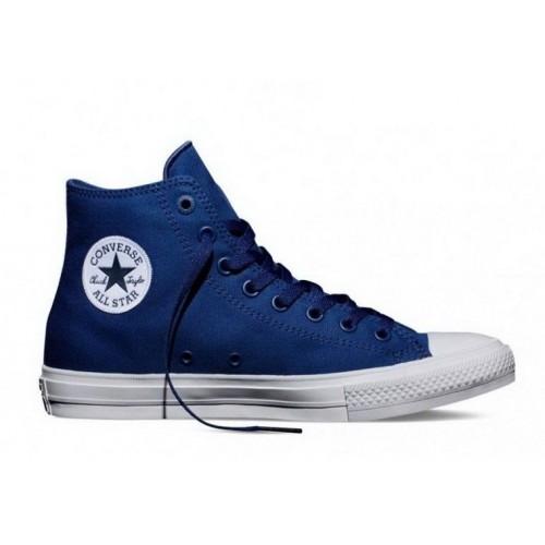 Кеды Converse Chuck Taylor All Star II High Синие (VА011)