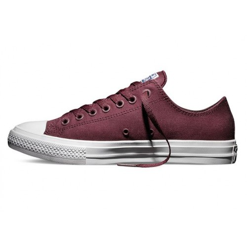 Кеды Converse Chuck Taylor All Star II Low Бордо (VЕРM021)