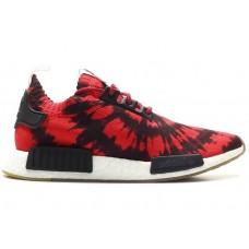 Кроссовки Adidas NMD Черно/красный (V-427)