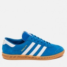 Кроссовки Adidas Originals Hamburg AH4 Синие (V-121)
