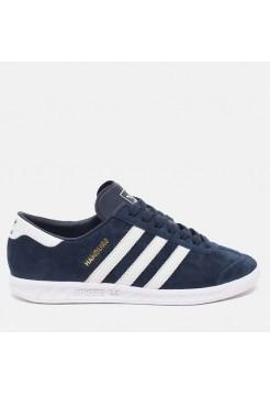 Кроссовки Adidas Originals Hamburg AH3 Синие (V122)