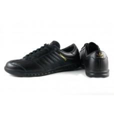 Кроссовки Adidas Originals Hamburg AH1 Черные (V-123)
