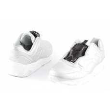 Кроссовки Puma Disc White/Black (V-611)