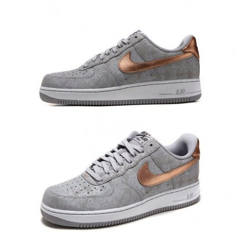 Кроссовки Nike Air Force Low Серые (VА511)