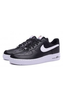 Кроссовки Nike Air Force Black/Wh (VА125)