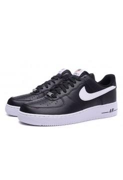 Кроссовки Nike Air Force Black/Wh (VА125)