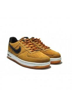 Кроссовки Nike Air Force Low Коричневые (ЕVА512)
