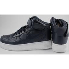 Кроссовки Nike Air-Force High Черные (V-212)