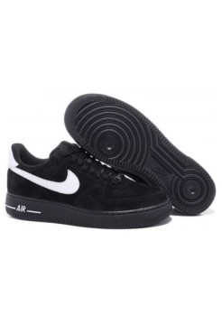Кроссовки Nike Air Force Low All Black (VА224)