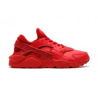 Кроссовки Nike Air Huarache Red (V-211)