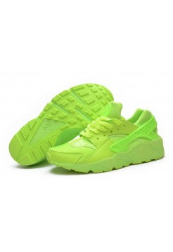 Кроссовки Nike Air Huarache Green (V-217)