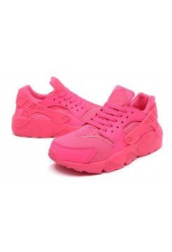 Кроссовки Nike Air Huarache Pink (V-227)