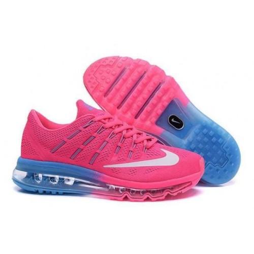 Кроссовки Nike Air Max 2016 Blue/Pink (V-147)
